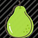 pear, fruit, healthy, food