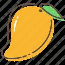 mango, fruit, healthy, food