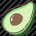 avocado, fruit, healthy, food
