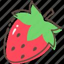 strawberry, fruit, healthy, food