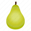 diet, food, fruit, healthy, healthy food, pear, vegetarian icon