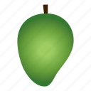 diet, fruit, healthy, healthy food, mango, tropical, vegetarian icon