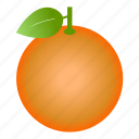 citrus, diet, food, fruit, healthy food, orange, vegetarian icon