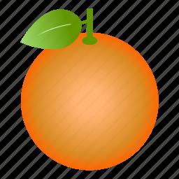 citrus, diet, food, fruit, healthy food, orange, vegetarian icon