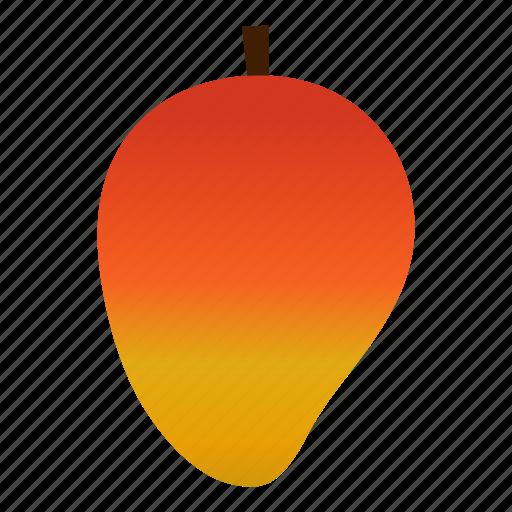 diet, fruit, healthy, healthy food, mango, tropical, vegetarian icon