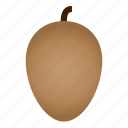 diet, food, fruit, healthy, healthy food, sapodilla, vegetarian icon