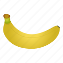 banana, diet, food, fruit, healthy, healthy food, vegetarian icon