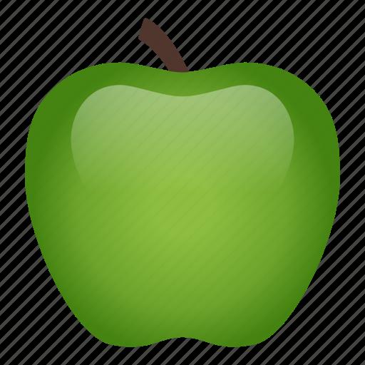 apple, diet, food, fruit, healthy, healthy food, vegetarian icon