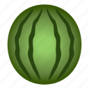diet, food, fruit, healthy, healthy food, vegetarian, watermelon icon
