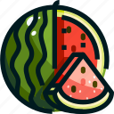 food, fruit, fruits, healthy, watermelon icon