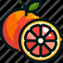 food, fruit, fruits, grapefruit, healthy