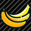 banana, food, fruit, fruits, healthy icon