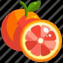 healthy, fruit, food, fruits, grapefruit