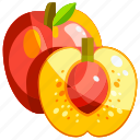 food, fruit, fruits, healthy, nectarine