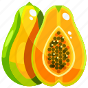 food, fruit, fruits, healthy, papaya