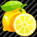 healthy, fruit, food, fruits, lemon