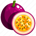 food, fruit, fruits, healthy, passion icon