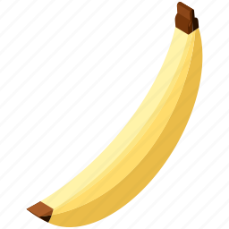 banana, food, fruit, healthy, organic, tropical icon