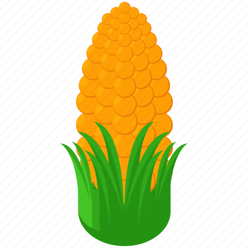 corn, food, healthy, maize, popcorn, snack icon