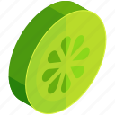 citrus, food, fruit, healthy, lemon, lime, slice icon