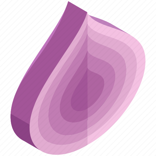 cooking, food, healthy, ingredient, onion, slice, vegetables icon