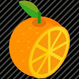 citrus, food, fruit, half, healthy, orange icon