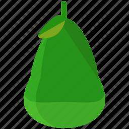 food, fruit, healthy, nutrition, organic, pear icon