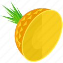 pineapple, organic, food, ananas, tropical, healthy, fruit