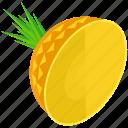 ananas, food, fruit, healthy, organic, pineapple, tropical icon