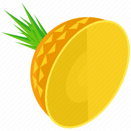ananas, food, fruit, healthy, organic, pineapple, tropical icon