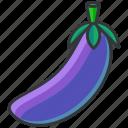 aubergine, food, health, organic, vegetable