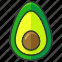 avocado, food, fruit, health, organic