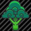 brocolli, food, health, organic, vegetable icon