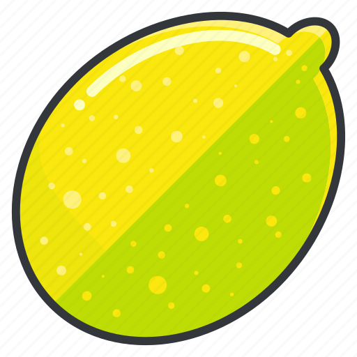 food, fruit, health, lemon, organic icon