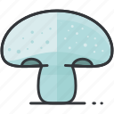 food, health, mushroom, organic, vegetable icon