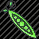 food, health, organic, peas, vegetable