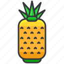ananas, food, fruit, health, organic, pineapple icon