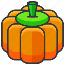 food, health, organic, pumpkin, vegetable icon