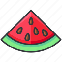 food, fruit, sweet, vegetable, watermelon icon