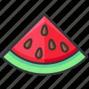 food, fruit, sweet, vegetable, watermelon