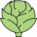 artichoke, healthy, vegetable, vitamins icon