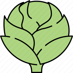 artichoke, healthy, vegetable, vitamins icon