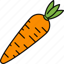 carrot, healthy, vegetable