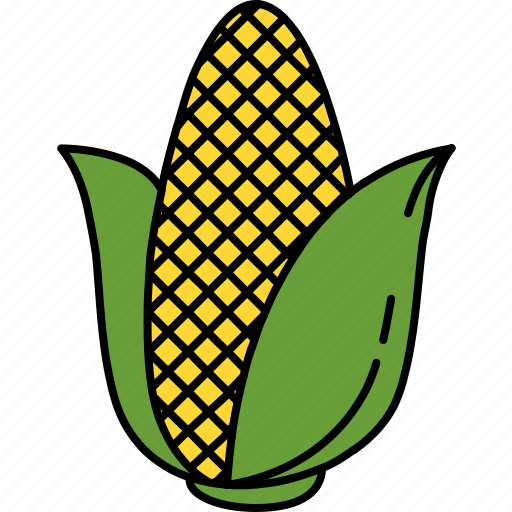 butter, corn, food, healthy, vegetable icon