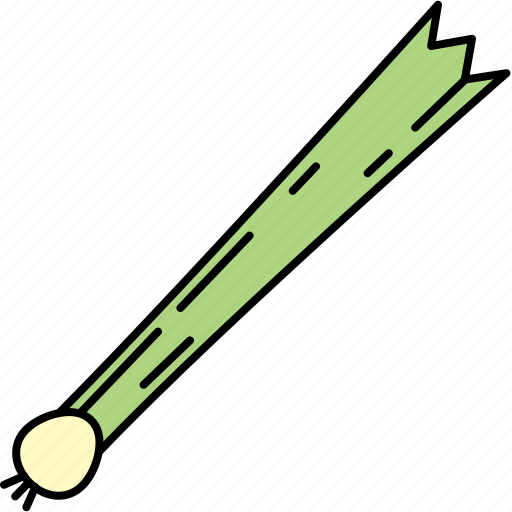 food, healthy, leek, vegetable icon