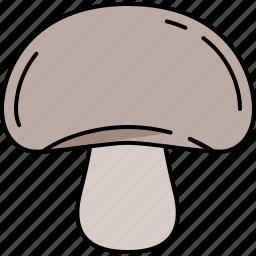 food, healthy, mushroom, vegetable icon