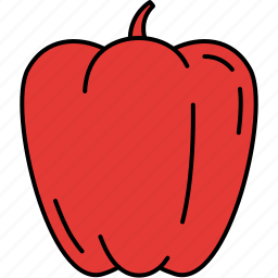 food, healthy, paprika, topping, vegetable icon