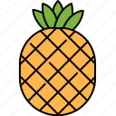 desert, food, fruit, healthy, pineapple, sweet icon