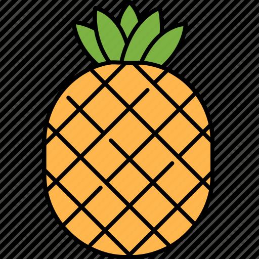 desert, food, fruit, healthy, pineapple, sweet icon