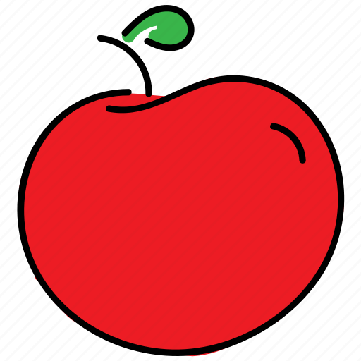 color, food, healty, logo, red tomato, tomato, vegetable icon